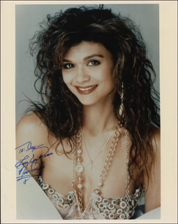 NIA PEEPLES - AUTOGRAPHED INSCRIBED PHOTOGRAPH