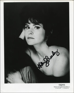 ALLY SHEEDY - PRINTED PHOTOGRAPH SIGNED IN INK
