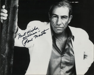 PAUL MANTEE - AUTOGRAPHED INSCRIBED PHOTOGRAPH