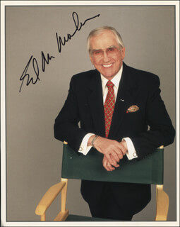 ED McMAHON - AUTOGRAPHED SIGNED PHOTOGRAPH
