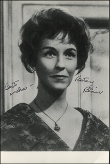 Autographs: BETSY BLAIR - PHOTOGRAPH SIGNED