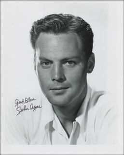 Autographs: JOHN AGAR - PHOTOGRAPH SIGNED