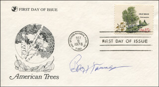 Autographs: BEN HAMMER - FIRST DAY COVER SIGNED