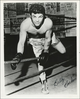 Autographs: BILLY BACKUS - PHOTOGRAPH SIGNED