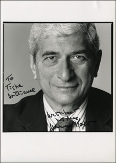 MARVIN KALB - AUTOGRAPHED INSCRIBED PHOTOGRAPH