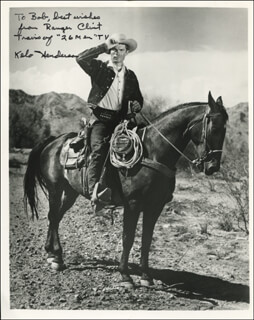 KELO HENDERSON - AUTOGRAPHED INSCRIBED PHOTOGRAPH