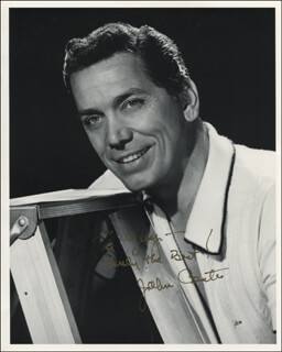 JOHN CONTE - AUTOGRAPHED INSCRIBED PHOTOGRAPH