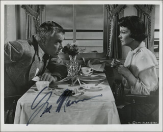 LEE MARVIN - AUTOGRAPHED SIGNED PHOTOGRAPH