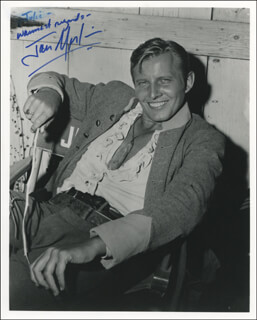 JAN MERLIN - AUTOGRAPHED INSCRIBED PHOTOGRAPH
