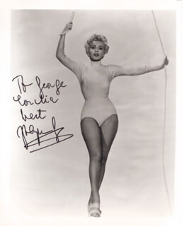 ZSA ZSA GABOR - AUTOGRAPHED INSCRIBED PHOTOGRAPH