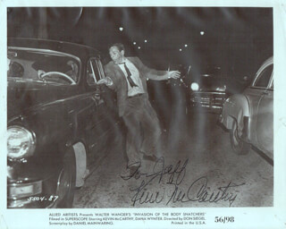 KEVIN McCARTHY - INSCRIBED PRINTED PHOTOGRAPH SIGNED IN INK