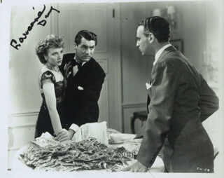 LARAINE DAY - AUTOGRAPHED SIGNED PHOTOGRAPH