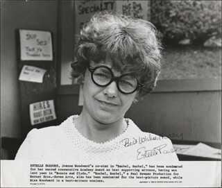 ESTELLE PARSONS - PRINTED PHOTOGRAPH SIGNED IN INK