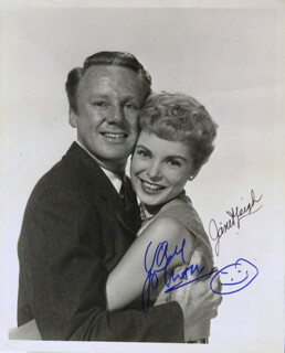 JANET LEIGH - AUTOGRAPHED SIGNED PHOTOGRAPH CO-SIGNED BY: VAN JOHNSON