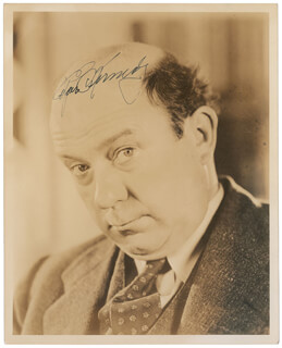 EDGAR KENNEDY - AUTOGRAPHED SIGNED PHOTOGRAPH