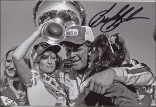 BUDDY BAKER - AUTOGRAPHED SIGNED PHOTOGRAPH