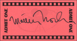 MATTHEW MODINE - PRINTED CARD SIGNED IN INK