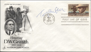 TONY RANDALL - FIRST DAY COVER SIGNED
