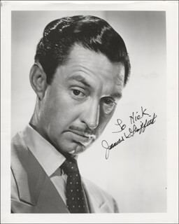 JAMES GRIFFITH - AUTOGRAPHED INSCRIBED PHOTOGRAPH
