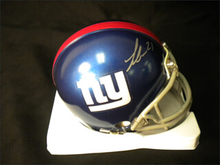 LANDON COLLINS - MINIATURE HELMET SIGNED