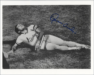 JOAQUIN ANDUJAR - AUTOGRAPHED SIGNED PHOTOGRAPH