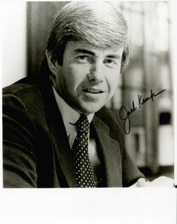 Autographs: JACK KEMP - PHOTOGRAPH SIGNED