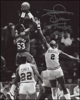 DARRYL DAWKINS - AUTOGRAPHED SIGNED PHOTOGRAPH