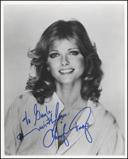 CHERYL TIEGS - AUTOGRAPHED INSCRIBED PHOTOGRAPH