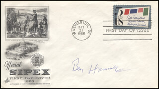 BEN HAMMER - FIRST DAY COVER SIGNED