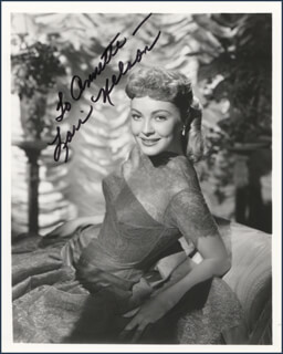 LORI NELSON - AUTOGRAPHED INSCRIBED PHOTOGRAPH