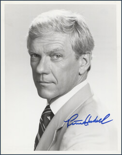 PETER HASKELL - AUTOGRAPHED SIGNED PHOTOGRAPH