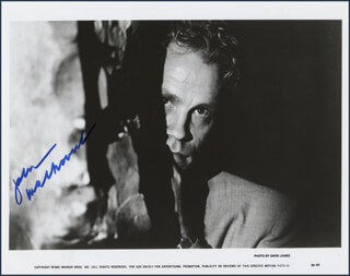 JOHN MALKOVICH - AUTOGRAPHED SIGNED PHOTOGRAPH