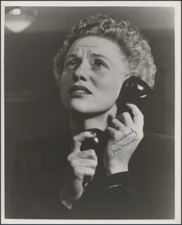 JAN MINER - AUTOGRAPHED SIGNED PHOTOGRAPH