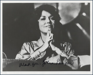 ZOHRA LAMPERT - AUTOGRAPHED SIGNED PHOTOGRAPH