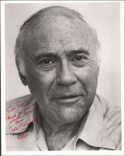 JOHN RANDOLPH - AUTOGRAPHED INSCRIBED PHOTOGRAPH 08/21/1987