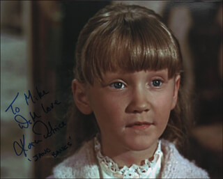 KAREN DOTRICE - AUTOGRAPHED INSCRIBED PHOTOGRAPH
