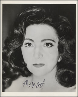 MARIE BELL - AUTOGRAPHED SIGNED PHOTOGRAPH