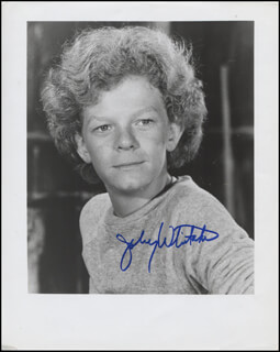 JOHNNY WHITAKER - AUTOGRAPHED SIGNED PHOTOGRAPH
