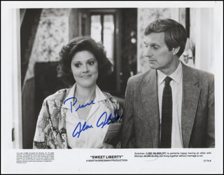 ALAN ALDA - PRINTED PHOTOGRAPH SIGNED IN INK