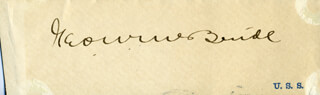 GEORGE WYCLIFFE McBRIDE - CLIPPED SIGNATURE