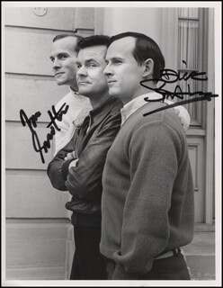 THE SMOTHERS BROTHERS - AUTOGRAPHED SIGNED PHOTOGRAPH CO-SIGNED BY: SMOTHERS BROTHERS (DICK SMOTHERS), SMOTHERS BROTHERS (TOM SMOTHERS)