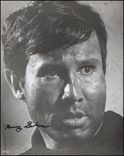 HENRY SILVA - AUTOGRAPHED SIGNED PHOTOGRAPH