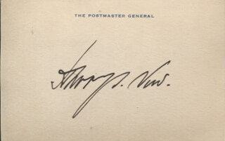 Autographs: HARRY S. NEW - SIGNATURE(S)