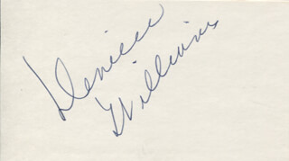 DENIECE WILLIAMS - AUTOGRAPH