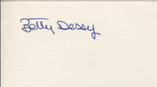 ELISABETTA BETTY DESSY - AUTOGRAPH