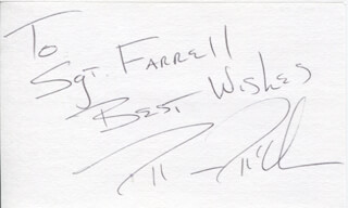 MARC McCLURE - AUTOGRAPH NOTE SIGNED