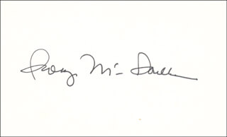 GEORGE MCGOVERN - AUTOGRAPH