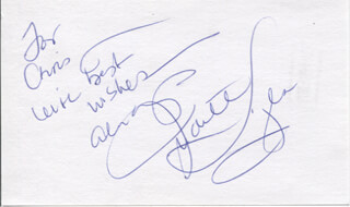 JUDITH LIGHT - AUTOGRAPH NOTE SIGNED