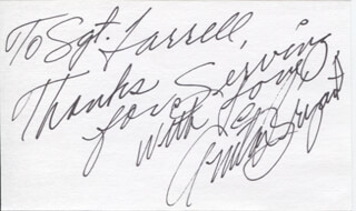 ANITA BRYANT - AUTOGRAPH NOTE SIGNED