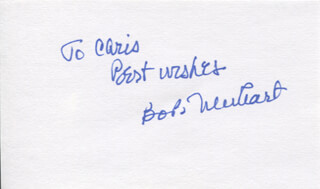 BOB NEWHART - AUTOGRAPH NOTE SIGNED